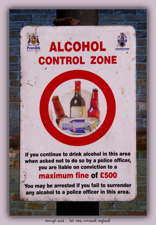 england, cornwall, st. ives, warning sign