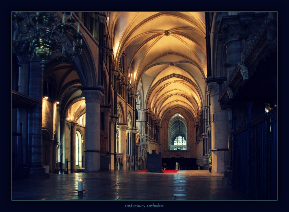 england, kent, canterbury, cathedral