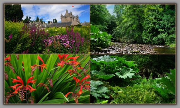 scotland, cawdor castle, gardens
