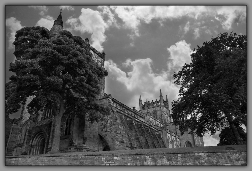 scotland, dunfermline abbey, bw, wpc