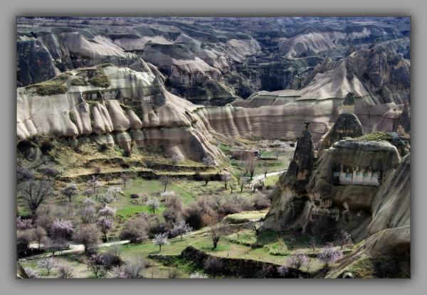 turkey, cappadocia, göreme, tuff, erosion