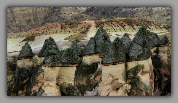 turkey, cappadocia, göreme np, monks' valley