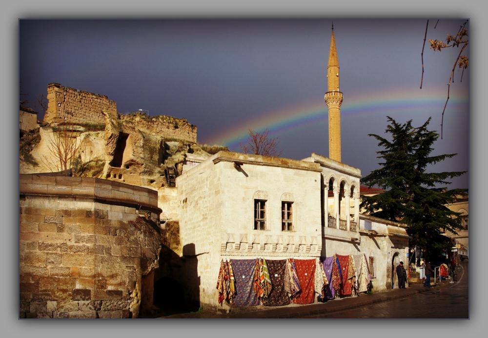 turkey, cappadocia, mustafapaşa, sinasos, mosque