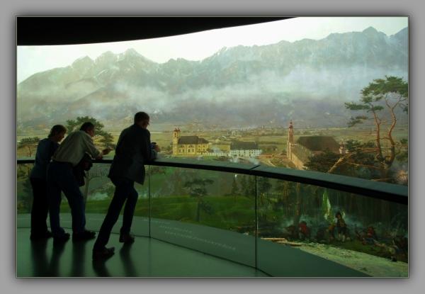 tirol, innsbruck, museum, bergisel, panorama