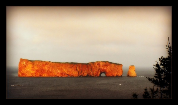quebec, percé, the famous rock