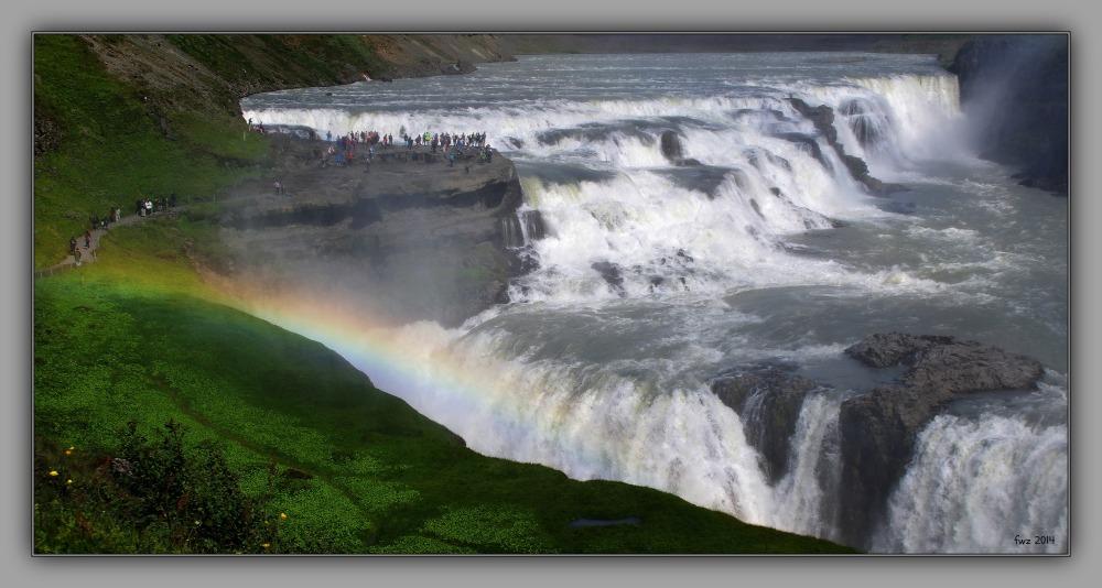 iceland 2014, gullfoss, waterfall, hvitá