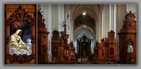 baltic states, lithuania, bernardinu church, inter