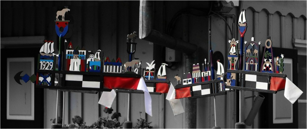 baltic states, lithuania, curonianspit, pennants