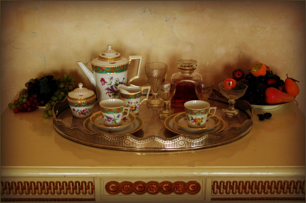 baltic states, latvia, rundāle palace, breakfast