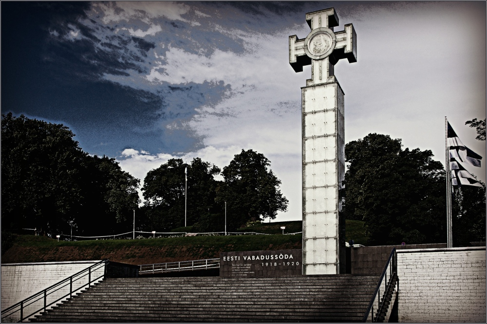 baltic states, estonia, tallinn, victory memorial