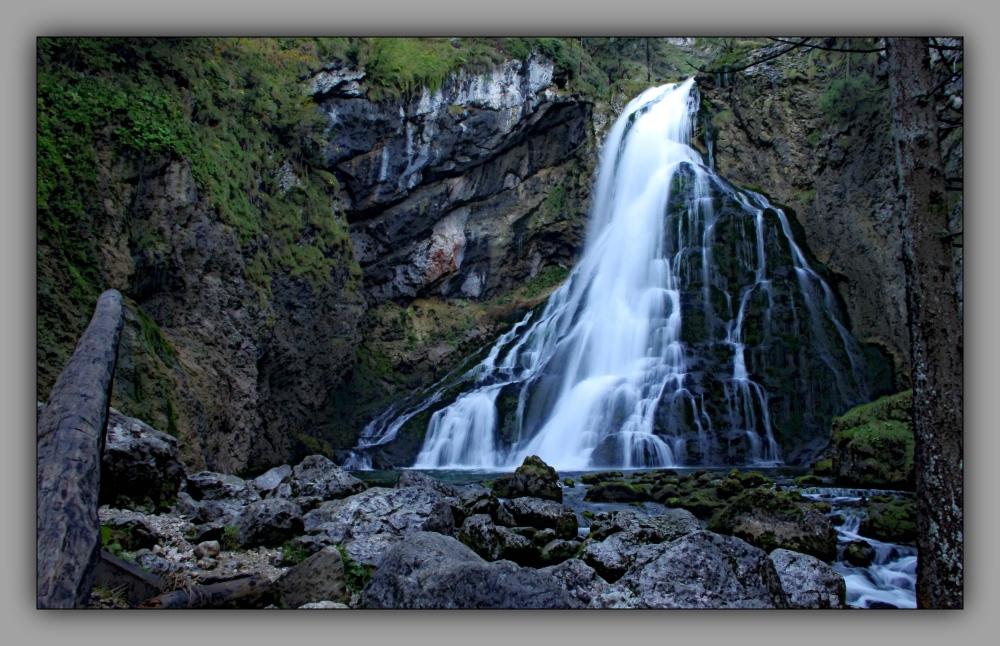 austria, salzburg, golling, waterfall, filter