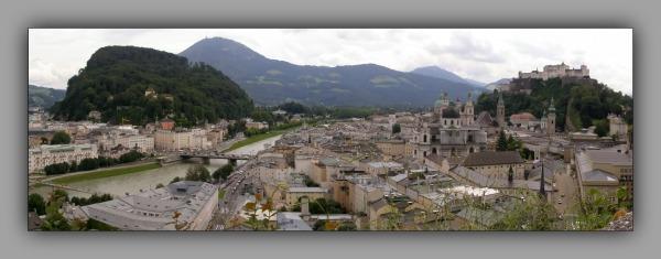 austria, salzburg, salzach, castle, olt town