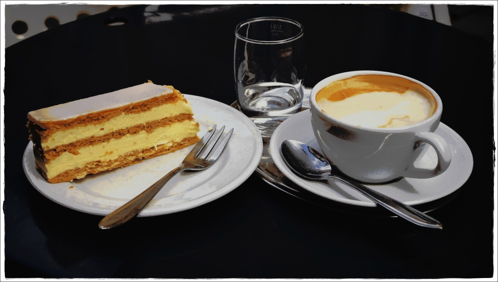 austria, salzburg, cream cake, coffee