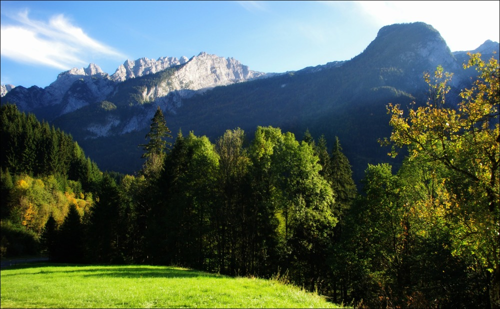 salzburg, alps, lammertal