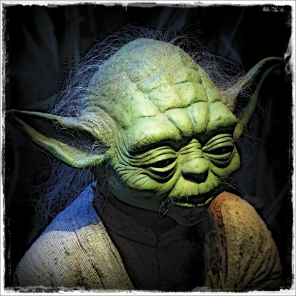 star wars, yoda, vienna, exhibit