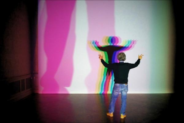 vienna, museum, ólafur elíasson, light, shadow