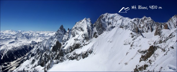 alps, mt. blanc, pano