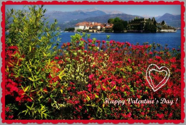 italy, lago maggiore, isola bella, valentine's day