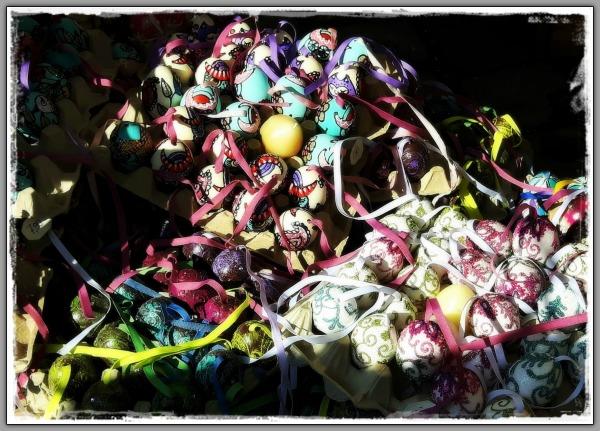 austria, vienna, easter eggs