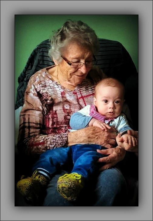 felix, grandson, seven months old