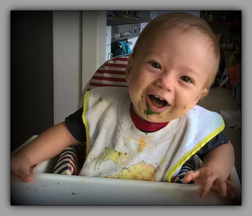 felix, grandson, eleven months old, september
