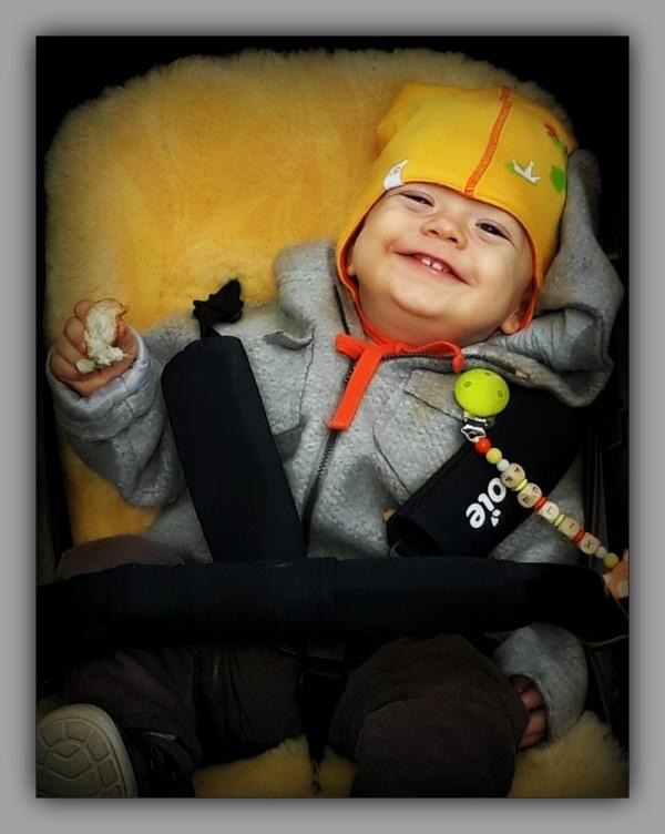 felix, grandson, one year old, october