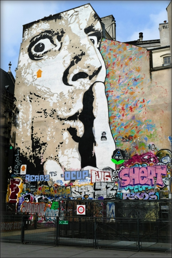 paris, mural