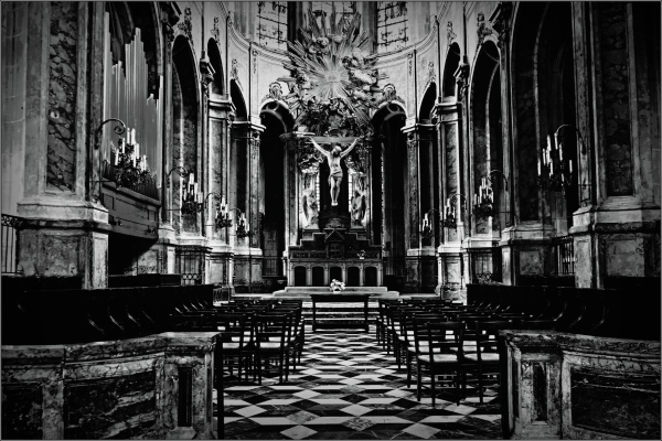 paris, church, saint-merri