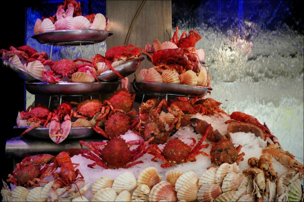 paris, seafood