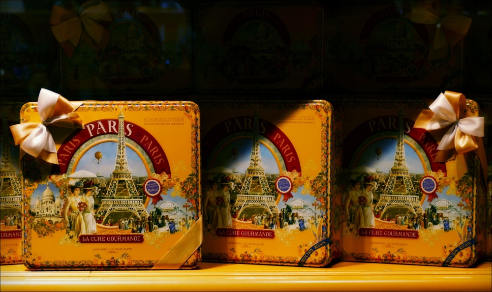 paris, sweets, boxes
