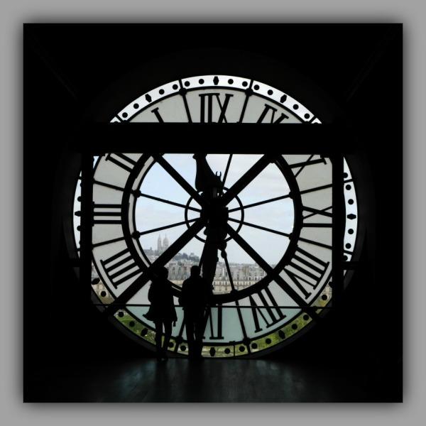 paris, musée d'orsay, montmartre, clock