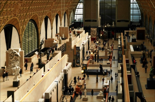paris, musée d'orsay, great hall