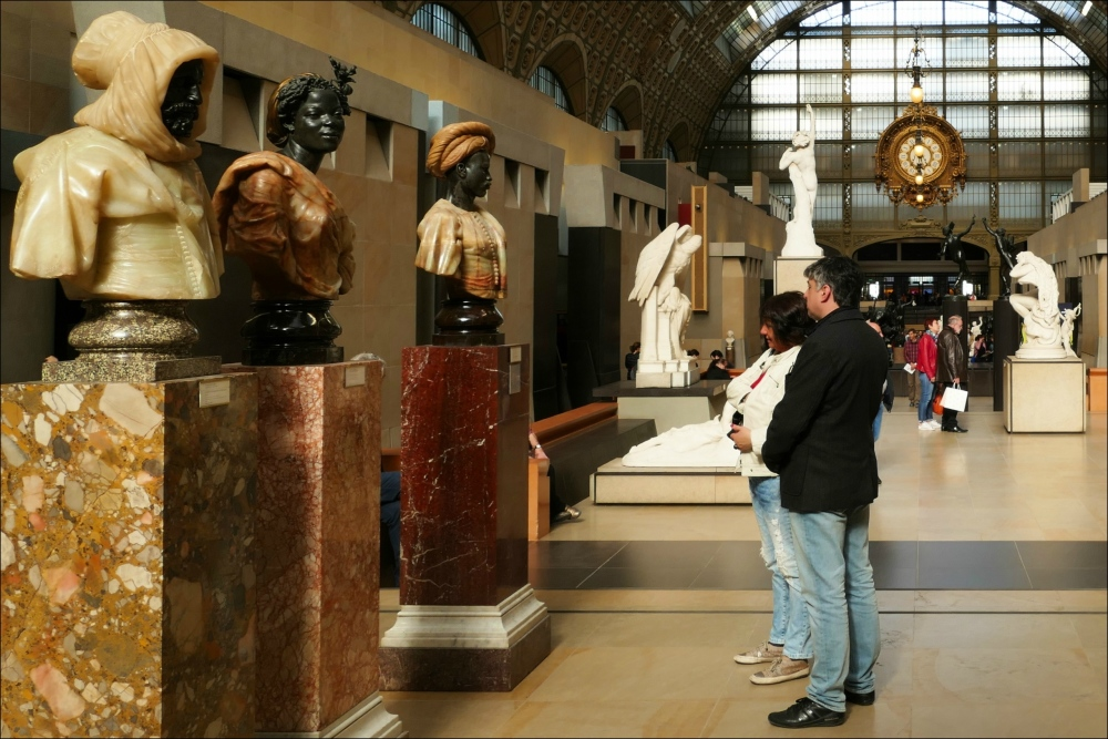 paris, musée d'orsay, great hall
