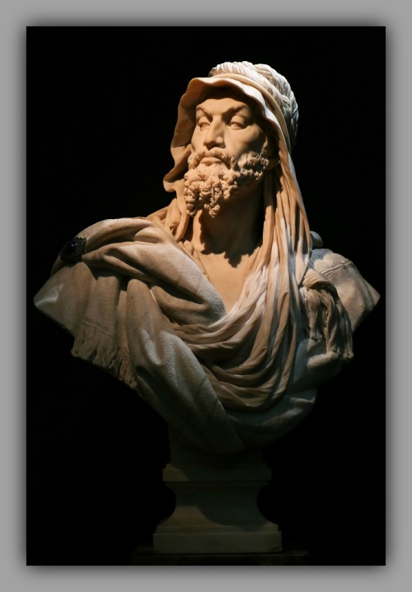 paris, musée d'orsay, bust, abyssinian chieftain
