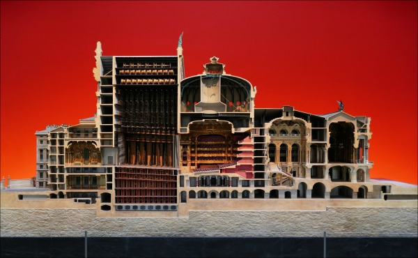 paris, musée d'orsay, opera, model