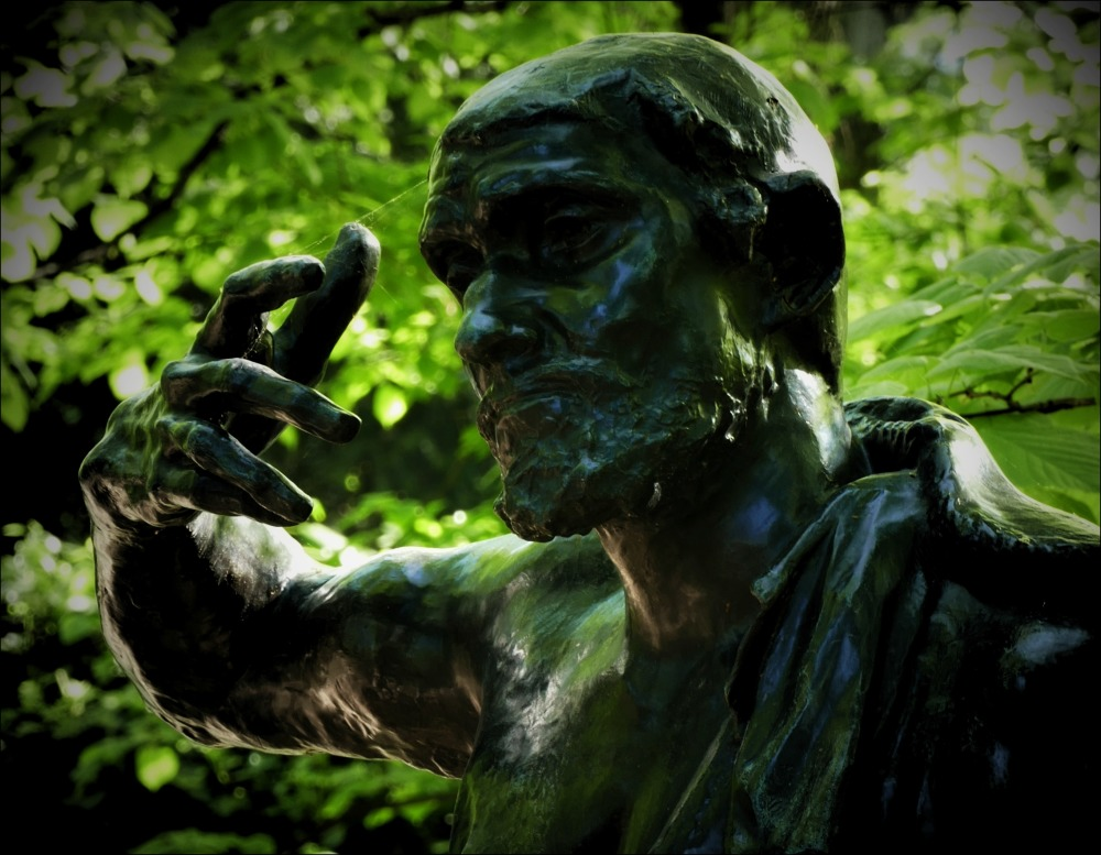 paris, rodin museum, sculpture garden