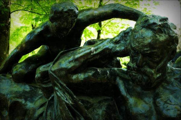 paris, rodin museum, sculpture garden, rodin