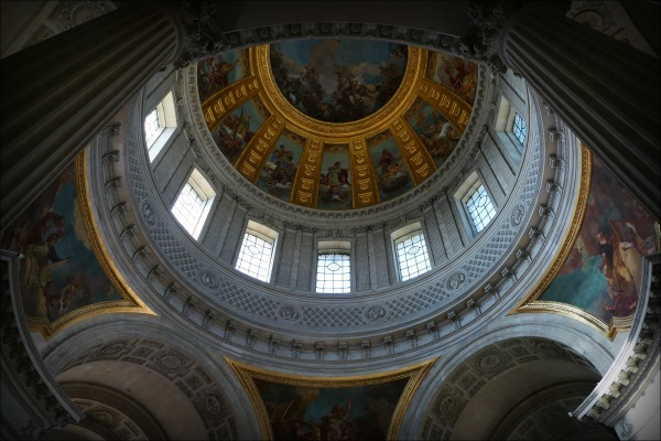 paris, dome des invalides, cupola