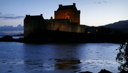 ... and in the evening   Eilean Donan Castle