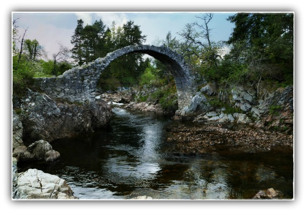 scotland, carrbridge, packhorse bridge