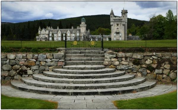 scotland, balmoral castle, park