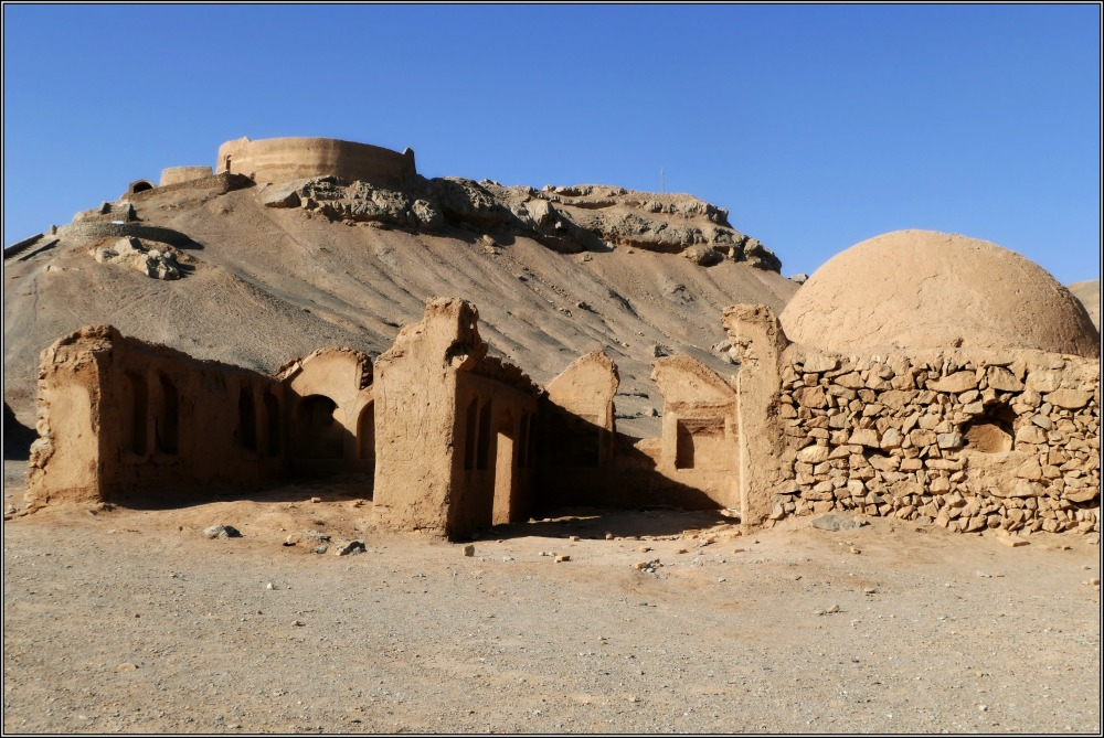 iran, yazd, tower of silence