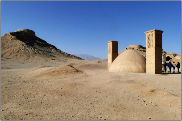 iran, yazd, towers of silence, ab anbar, badgir