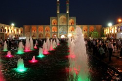 An evening in Yazd