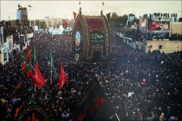 iran, yazd, nakhl, ashura, procession