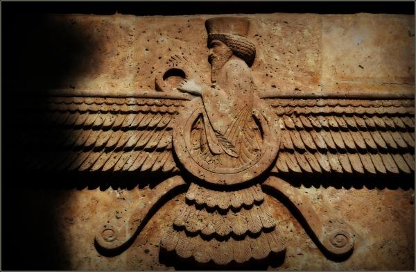 iran, yazd, zoroastrians, faravahar