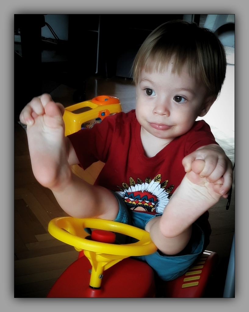 felix, grandson, twenty-one months old, july 2018