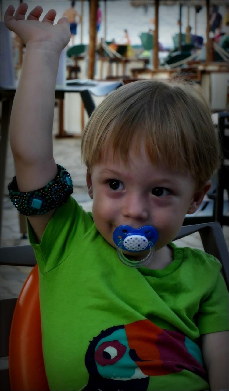 felix, grandson, twenty-two months old, august2018