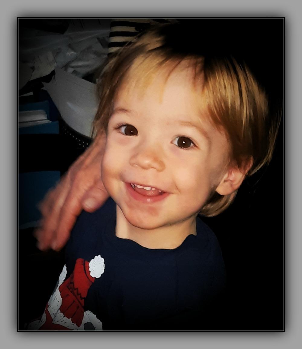 felix, grandson, 26 months old, december 2018