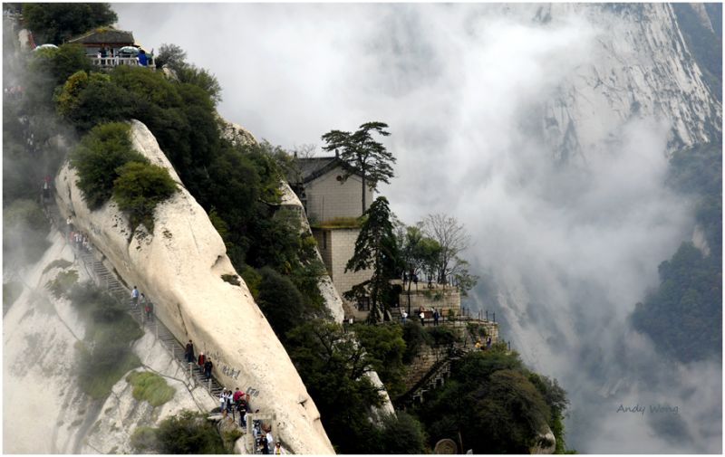 Huashan Mountain, Xian,China